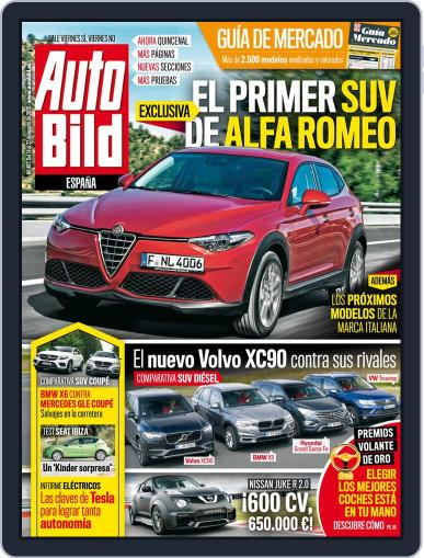 Auto Bild Es (Digital) August 14th, 2015 Issue Cover