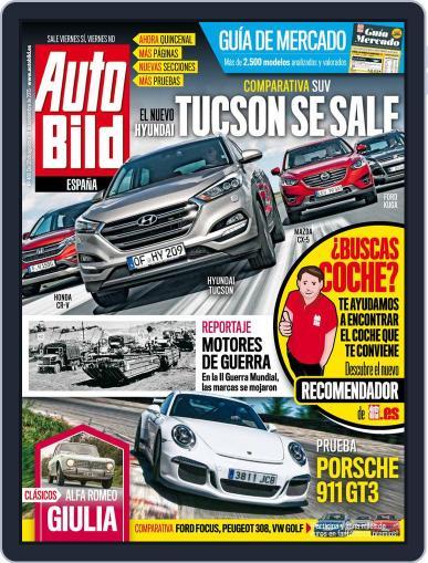 Auto Bild Es (Digital) August 28th, 2015 Issue Cover