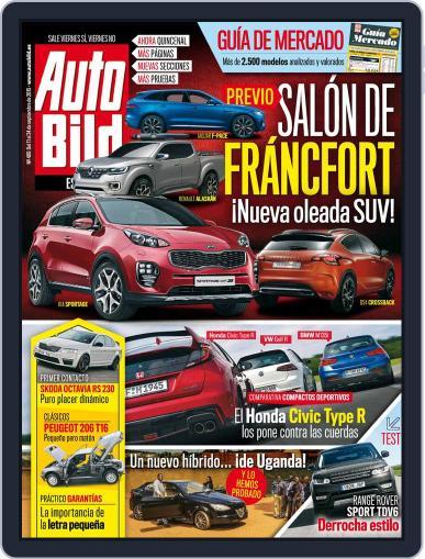 Auto Bild Es (Digital) September 11th, 2015 Issue Cover