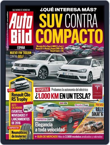 Auto Bild Es (Digital) December 30th, 2015 Issue Cover