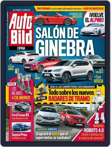 Auto Bild Es (Digital) February 26th, 2016 Issue Cover