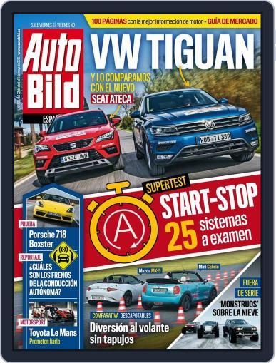 Auto Bild Es (Digital) April 22nd, 2016 Issue Cover
