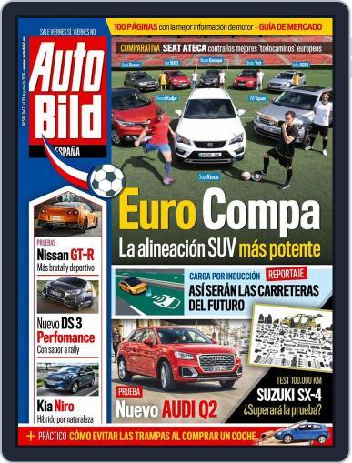 Auto Bild Es (Digital) June 17th, 2016 Issue Cover