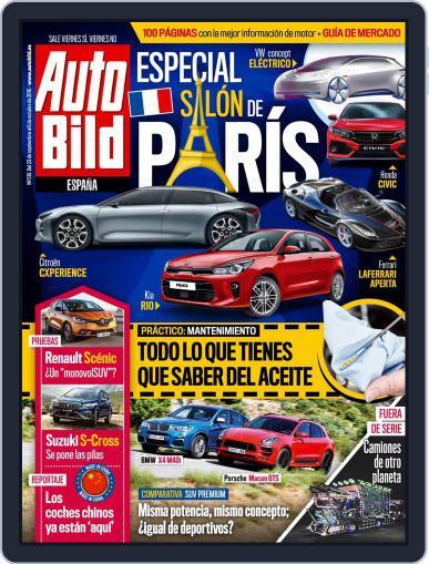 Auto Bild Es (Digital) September 23rd, 2016 Issue Cover