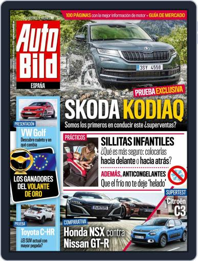 Auto Bild Es (Digital) November 18th, 2016 Issue Cover