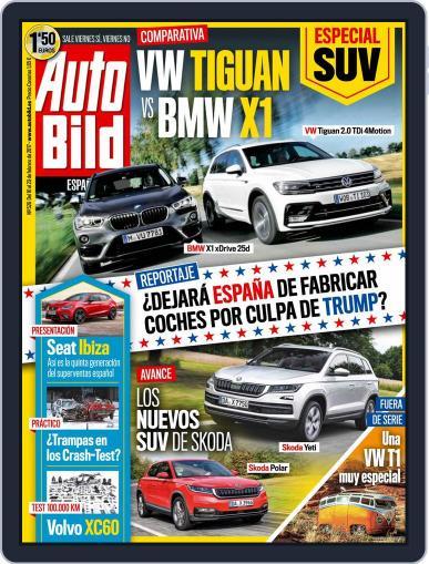 Auto Bild Es (Digital) February 10th, 2017 Issue Cover