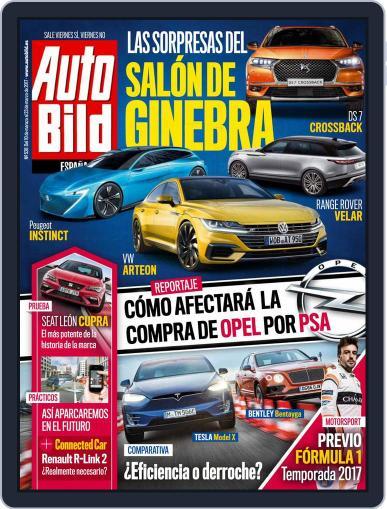 Auto Bild Es March 15th, 2017 Digital Back Issue Cover