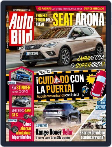 Auto Bild Es (Digital) October 13th, 2017 Issue Cover