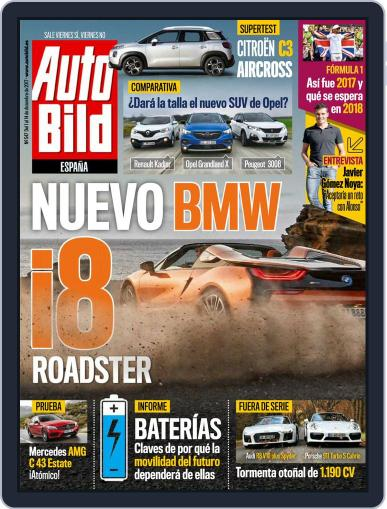 Auto Bild Es (Digital) December 1st, 2017 Issue Cover