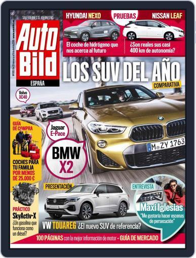 Auto Bild Es (Digital) March 23rd, 2018 Issue Cover