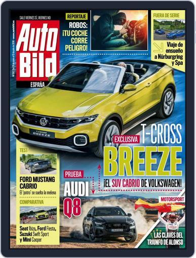 Auto Bild Es (Digital) June 29th, 2018 Issue Cover