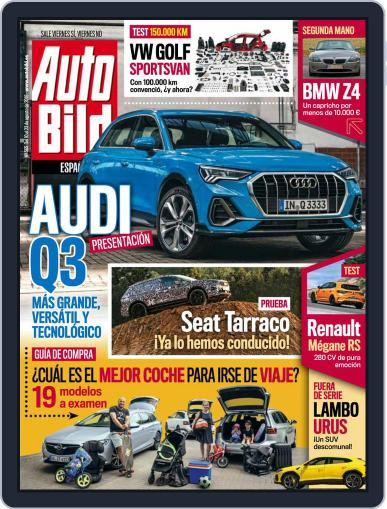 Auto Bild Es August 9th, 2018 Digital Back Issue Cover