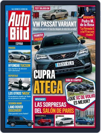 Auto Bild Es (Digital) October 5th, 2018 Issue Cover