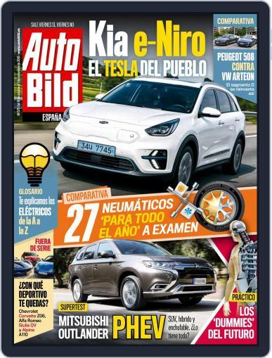 Auto Bild Es (Digital) October 19th, 2018 Issue Cover