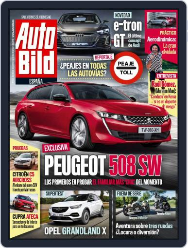 Auto Bild Es November 30th, 2018 Digital Back Issue Cover