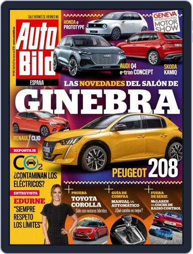 Auto Bild Es (Digital) March 8th, 2019 Issue Cover