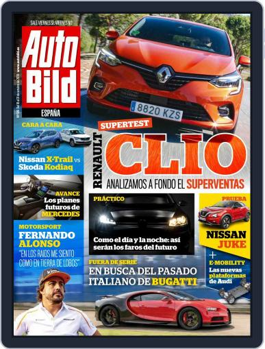 Auto Bild Es (Digital) October 18th, 2019 Issue Cover