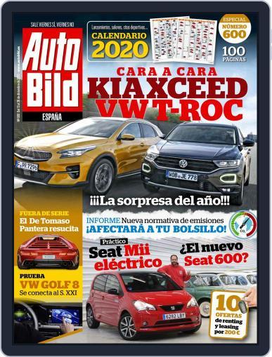 Auto Bild Es (Digital) December 13th, 2019 Issue Cover