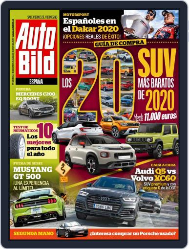 Auto Bild Es (Digital) December 27th, 2019 Issue Cover