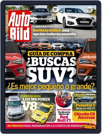 Auto Bild Es January 10th, 2020 Digital Back Issue Cover