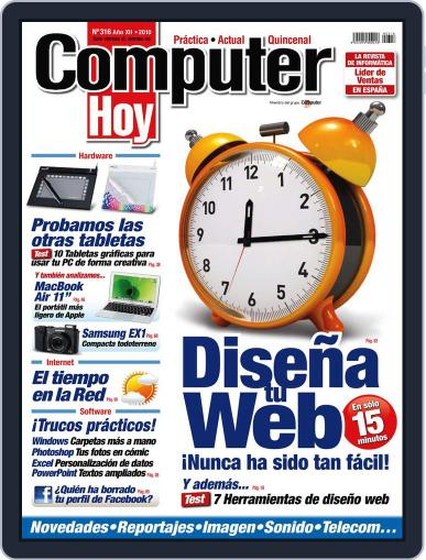 Computer Hoy November 12th, 2010 Digital Back Issue Cover