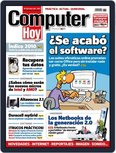 Computer Hoy (Digital) January 7th, 2011 Issue Cover