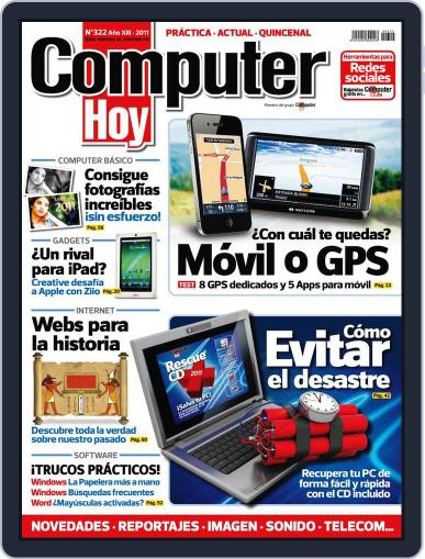 Computer Hoy (Digital) February 4th, 2011 Issue Cover