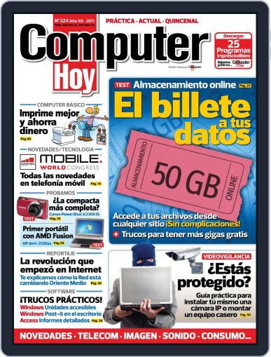 Computer Hoy (Digital) March 17th, 2011 Issue Cover