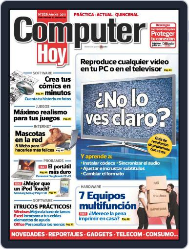 Computer Hoy (Digital) March 31st, 2011 Issue Cover