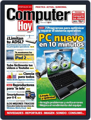 Computer Hoy (Digital) April 16th, 2011 Issue Cover