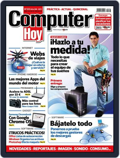 Computer Hoy July 8th, 2011 Digital Back Issue Cover