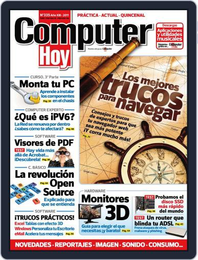 Computer Hoy (Digital) August 9th, 2011 Issue Cover