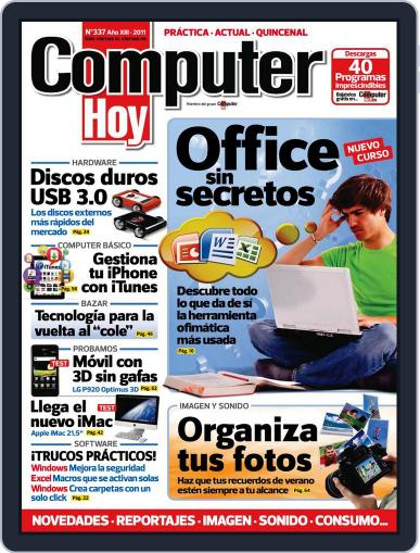 Computer Hoy (Digital) September 5th, 2011 Issue Cover
