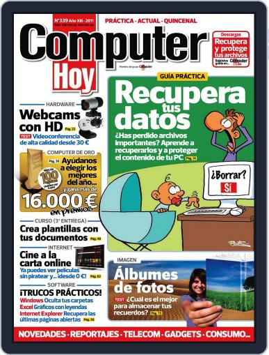 Computer Hoy (Digital) October 3rd, 2011 Issue Cover