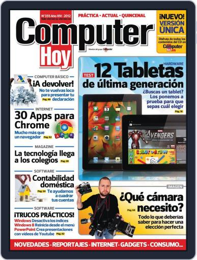 Computer Hoy May 10th, 2012 Digital Back Issue Cover