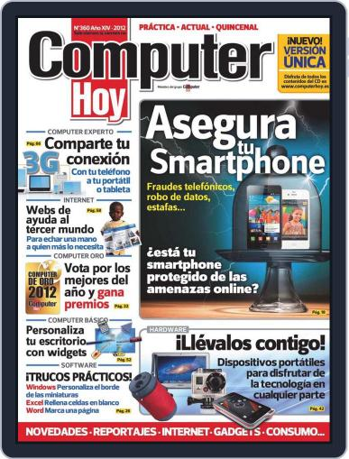 Computer Hoy (Digital) July 20th, 2012 Issue Cover