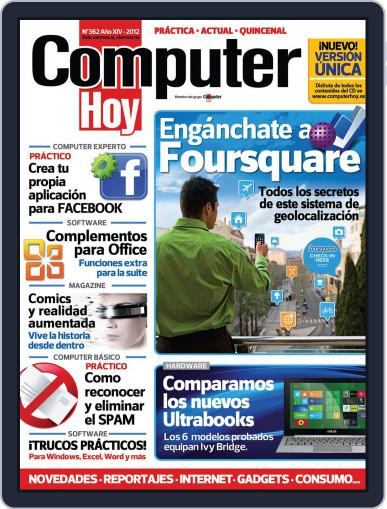 Computer Hoy (Digital) August 16th, 2012 Issue Cover