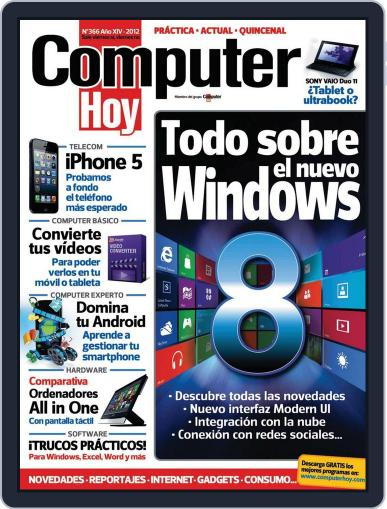 Computer Hoy October 10th, 2012 Digital Back Issue Cover