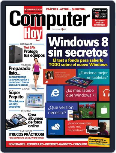 Computer Hoy (Digital) November 12th, 2012 Issue Cover