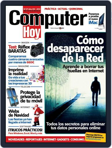 Computer Hoy (Digital) December 21st, 2012 Issue Cover