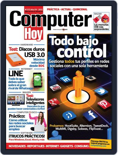 Computer Hoy (Digital) January 3rd, 2013 Issue Cover