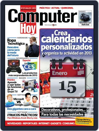 Computer Hoy (Digital) January 18th, 2013 Issue Cover