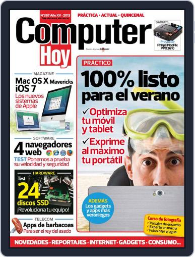 Computer Hoy (Digital) August 5th, 2013 Issue Cover