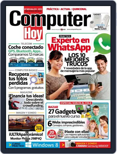 Computer Hoy (Digital) August 30th, 2013 Issue Cover