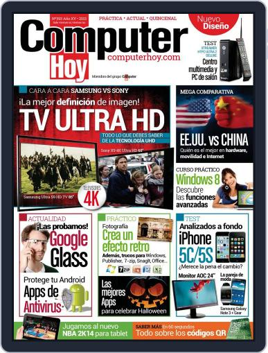 Computer Hoy (Digital) October 25th, 2013 Issue Cover