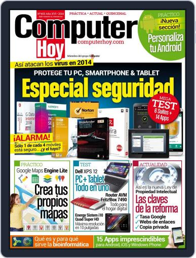 Computer Hoy (Digital) March 14th, 2014 Issue Cover