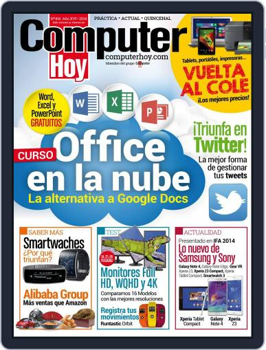 Computer Hoy (Digital) September 12th, 2014 Issue Cover