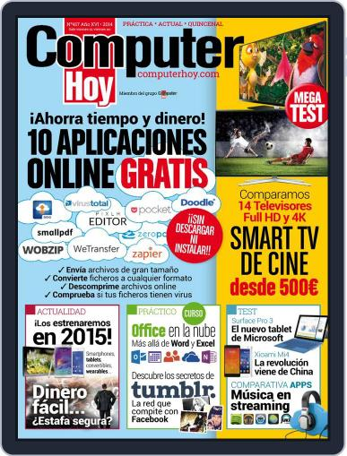 Computer Hoy September 25th, 2014 Digital Back Issue Cover