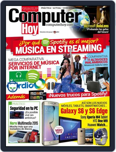 Computer Hoy March 13th, 2015 Digital Back Issue Cover