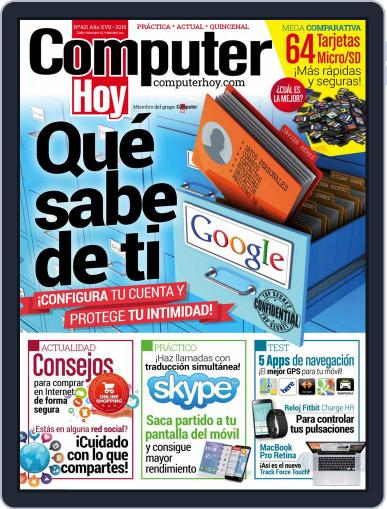 Computer Hoy (Digital) April 9th, 2015 Issue Cover